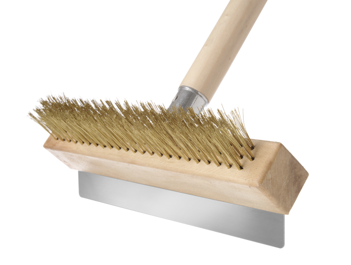 pizza oven cleaning brush